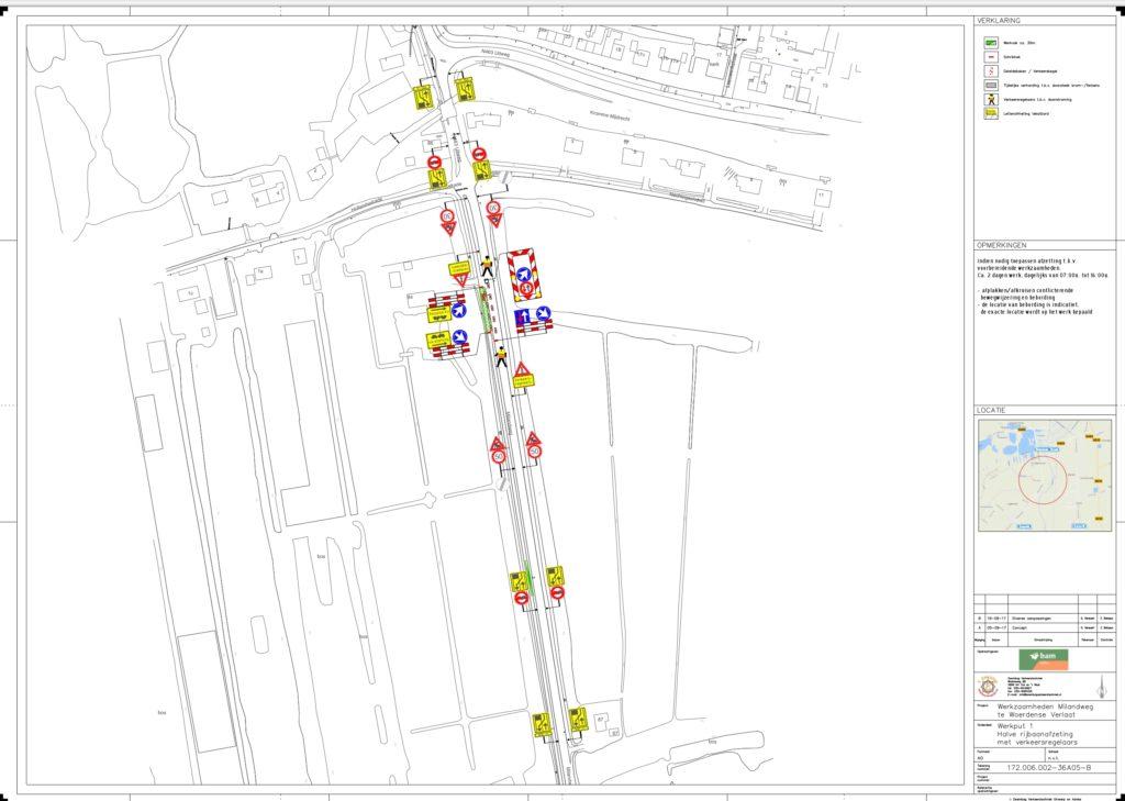 ontwerp verkeersplan